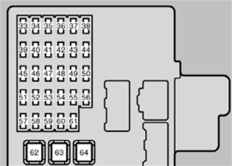 lexus es300 2002 2003 fuse box diagram auto genius