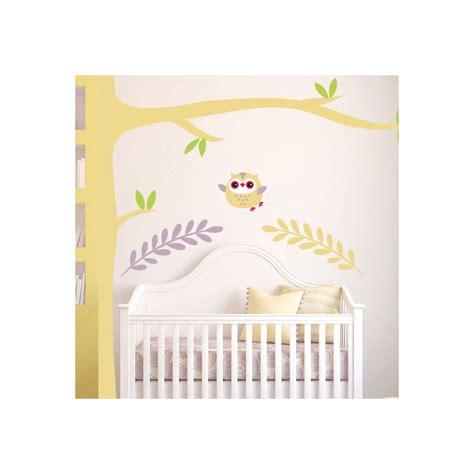 stickers hibou chambre bébé stickers toiles chambre bb dcoration maison stickers