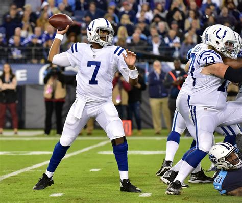 indianapolis colts sell high  jacoby brissett