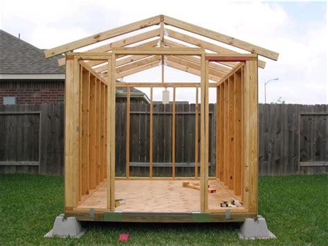 building  shed  skids storage shed kits