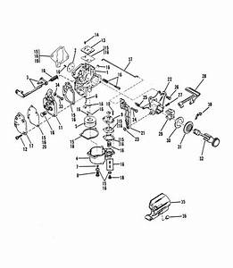 Mercury Marine 8 Hp Carburetor Assembly  15  Parts