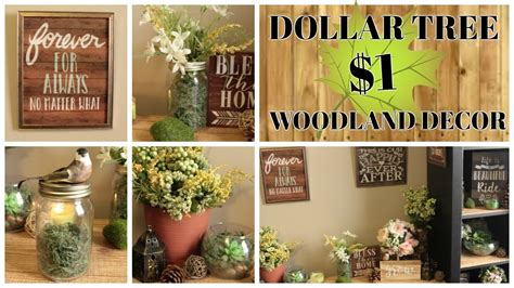 dollar tree home decor ideas 1 dollar tree woodland home decor ideas
