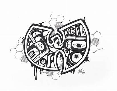 Tang Wu Drawing Formline Drawings Artwork Kc