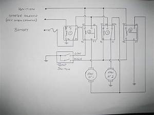 Half Speed Thermo Fan Wiring Schematic