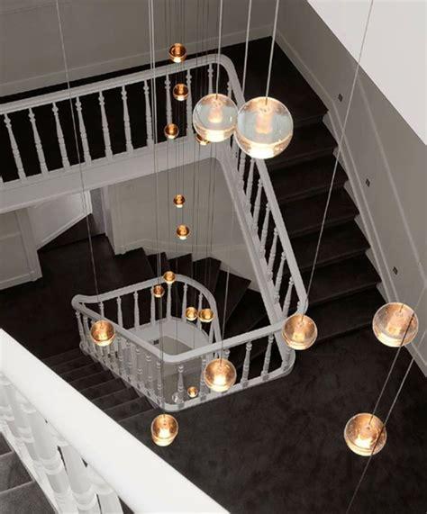 long stairway g4 led luminaria home hanging crystal ball