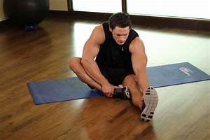 Seated Floor Hamstring Stretch Exercise Guide and Video