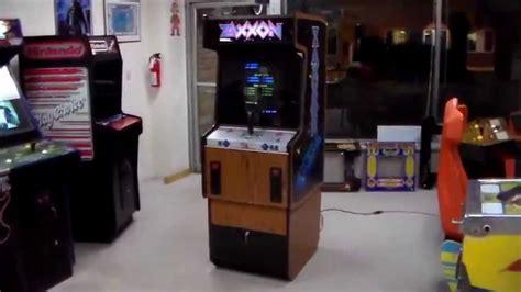 Segas Classic Zaxxon Arcade Game Cabinet Design