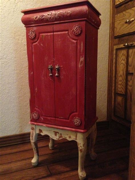 Painted Jewelry Armoire 84 Best Jewelry Armoire Redo Images On