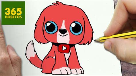 como dibujar perro kawaii paso a paso dibujos kawaii faciles how to draw a
