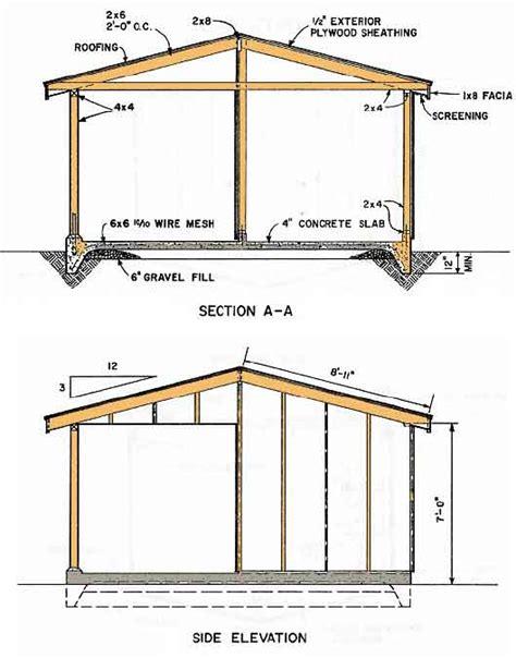 shed blueprints    build  shed