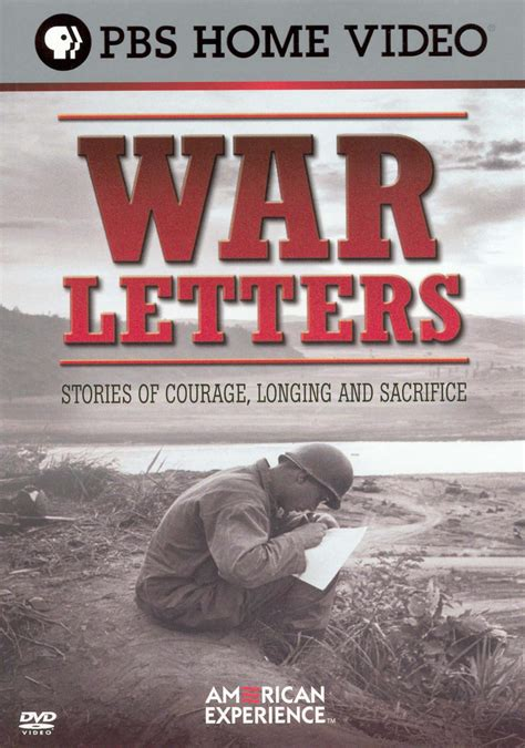 American Experience War Letters  Stories Of Courage