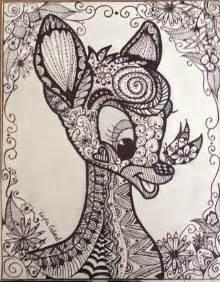 Zentangle Mandala Drawing