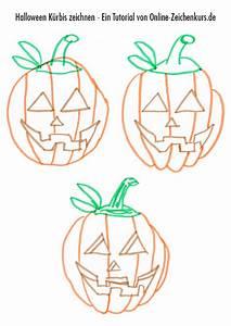Halloween Kürbis Motive : f r eltern und kinder zeichnanleitung f r halloween motive ~ Eleganceandgraceweddings.com Haus und Dekorationen