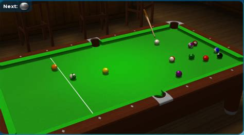 8-ball Pool, Free 3d Pool Game