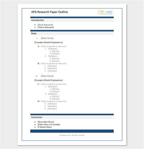 sample apa research paper format