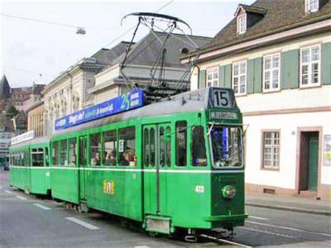 Bvb Motorwagen Nr 413 Bei Tramoldtimer Basel