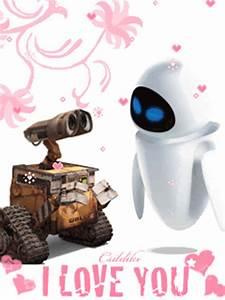Happy Valentine's Day! WALL-E and EVE - Disney Photo ...