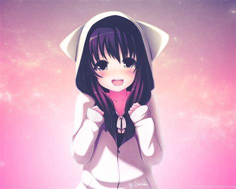 Cute Anime Girls Backgrounds New Hd Wallpapers Desktop