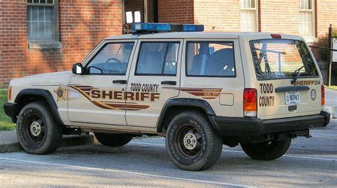 police jeep cherokee todd county