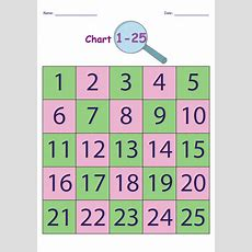 Printable Number Chart 120  Activity Shelter