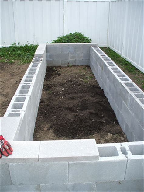 concrete raised garden beds easy to build and fairly
