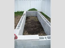 Concrete Raised Garden Beds Easy to build, and fairly