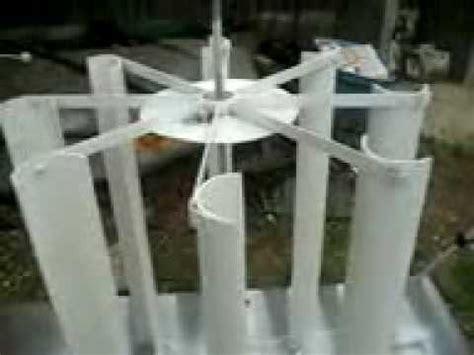 Как сделать вертикальный ветрогенератор