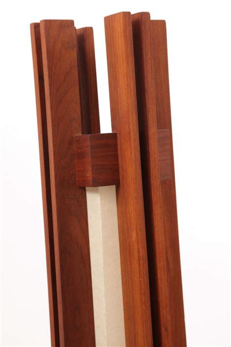 Frank Lloyd Wright Floor Lamp by Solid Walnut Studio Floor Lamp Red Modern Furniture