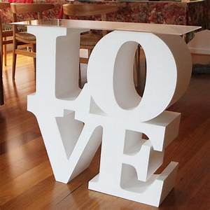 love letter tables jy display and signs blog With where to buy foam letters