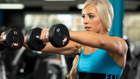 Shoulder Workouts For Women 4 Workouts To Build Size And