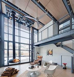 Bathroom and Living Room With An Industrial Touch
