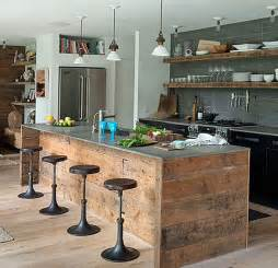 rustic kitchen islands two ways to create rustic kitchen island my kitchen interior mykitcheninterior