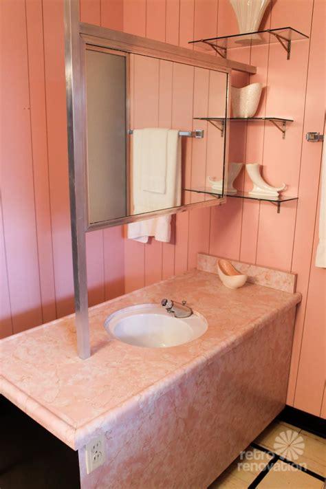 Pink Bathroom   Wilson House Temple Texas