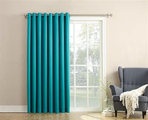Sun Zero Becca Energy Efficient Patio Door Curtain Panel