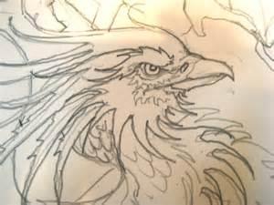 Phoenix Dragon Drawings