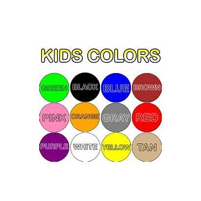 Colors Learn Tap Yellow Orange Purple Brown