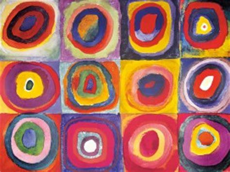 wassily kandinsky colour study squares  concentric