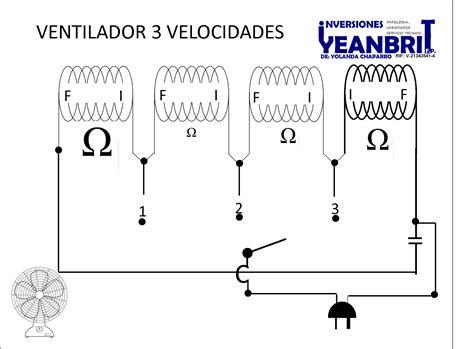 conexiones motor de ventilador marca brisa mod po 20 yoreparo