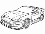 Coloring Nissan Cars Drawings Cool Subaru Race Silvia Drawing Sketch Skyline Jdm Outline Toyota Gtr 240sx Draw Photobucket Desenhos Printable sketch template