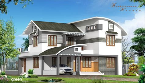 architecture kerala  beautiful house elevation