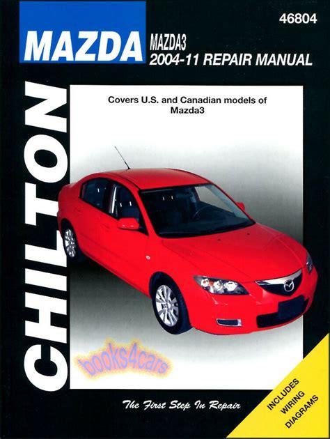 auto repair manual free download 2003 mazda b series seat position control mazda3 shop manual service repair book chilton mazda 3 haynes 2004 2011 ebay