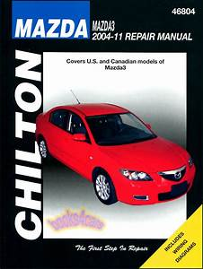 Mazda3 Shop Manual Service Repair Book Chilton Mazda 3 Haynes 2004