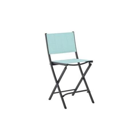 martha stewart living franklin park blue padded folding