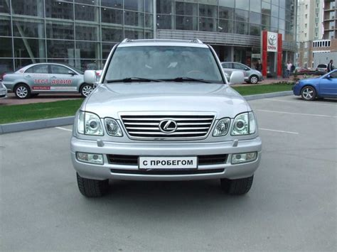 Used 2006 Lexus Lx470 Photos 4700cc Gasoline Automatic