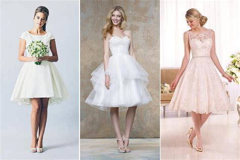 6 Awesome Perks Of Wearing A Short Wedding Dress