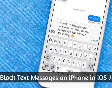 how to block texts on iphone how to block text messages on iphone in ios 7
