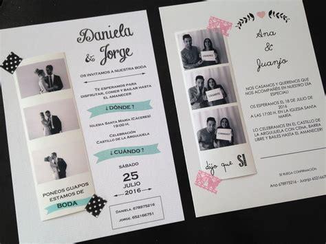 invitaciones de boda originales images