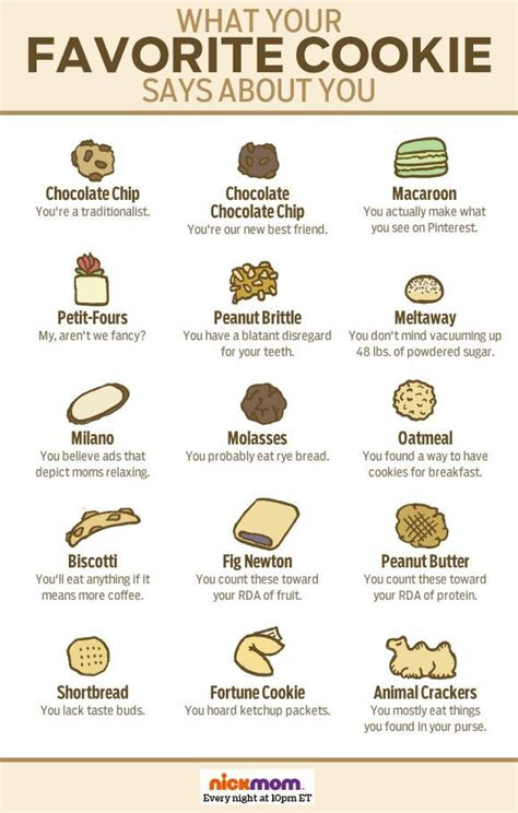 what you favorite what your favorite cookie says about you more from