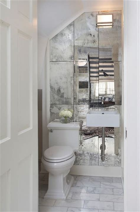 Mirrored Bathroom Wall Tiles by Top 25 Best Glass Tiles Ideas On Glass Tile