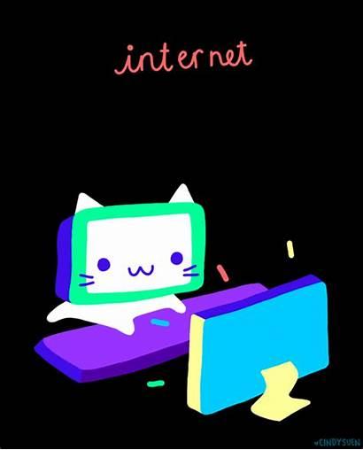 Giphy Internet Cindy Gifs Cat Suen Space